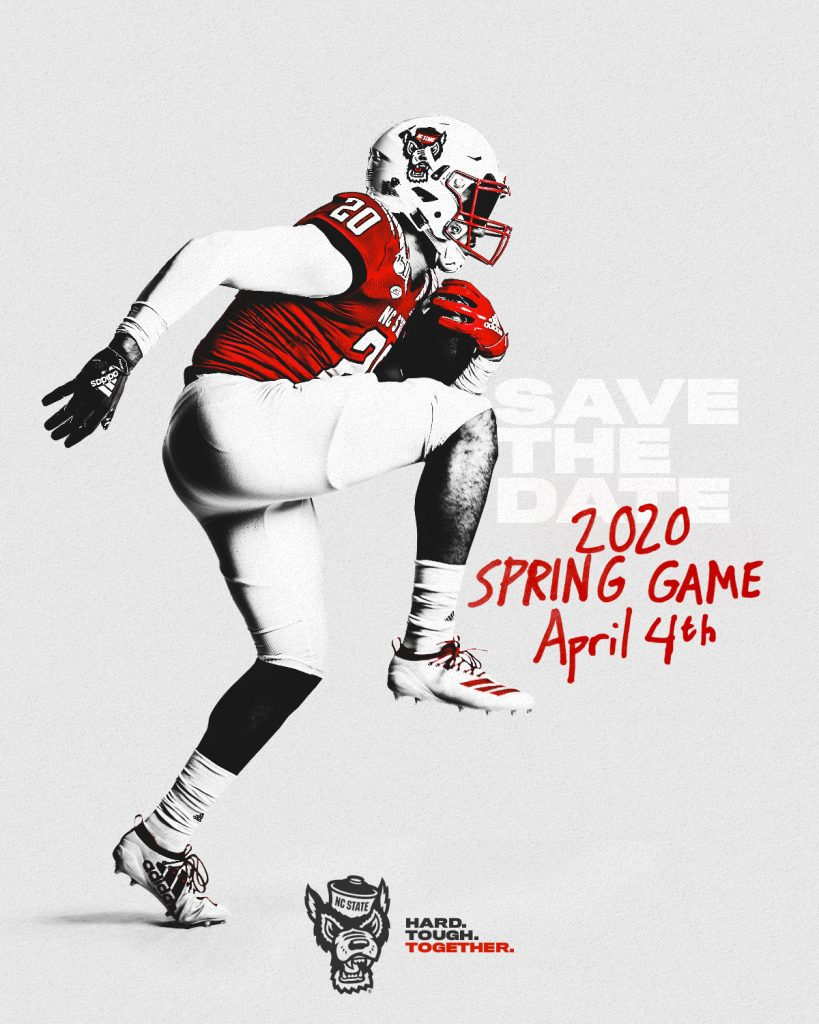 Save the Date - Spring Game 2020