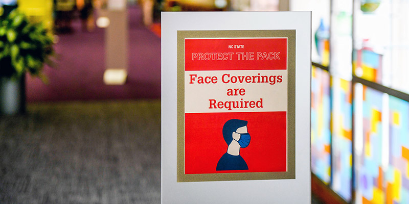 Face Coverings Required