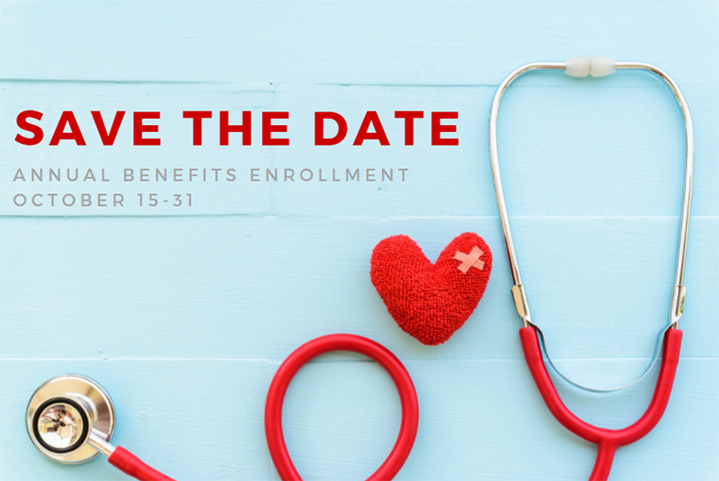 Save the Date: Annual Benefits Enrollment